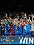 Italia Futsal Campione d'Europa 2014