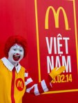 Mc Donalds open Vietnam 2014