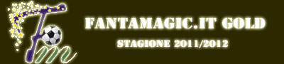 2°ED. FANTAMAGIC.IT GOLD STAGIONE 2011/2012