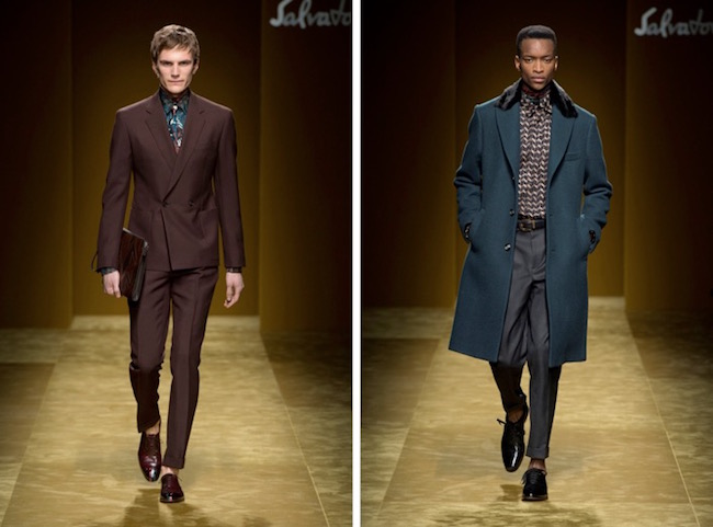 Menswear fall winter 2016 Ferragamo