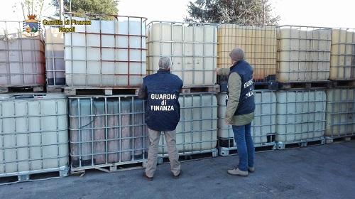 Napoli lotta al contrabbando di gasolio
