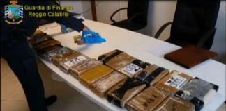 Reggio Calabria sequestrata cocaina