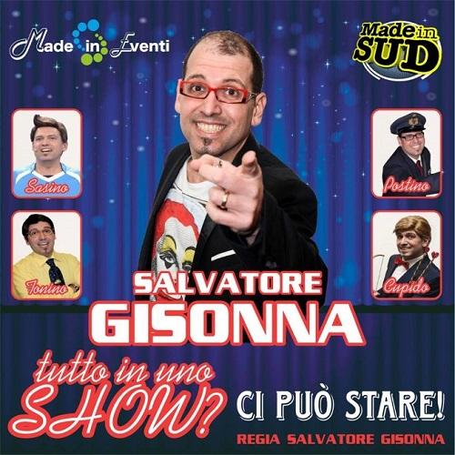 Salvatore Gisonna - Teatro - tutto in uno show