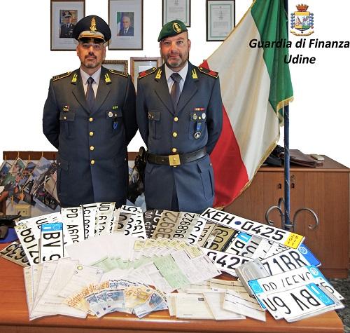 Udine, evasione scoperta coppia di coniugi intestatari di 760 autovetture