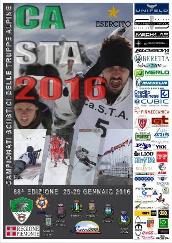 Campionati sciistici delle Truppe Alpine al Sestiere