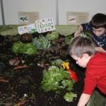 bambini e orto