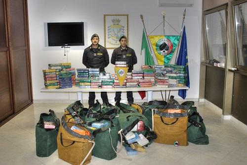 Reggio Calabria maxi sequestro droga