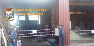 Vibo Valentia, sequestato stabilimento abusivo per la produzione di pellet