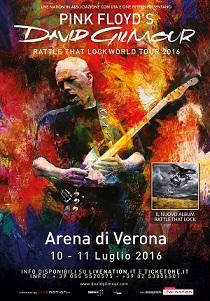 David Gilmour a Verona 2016