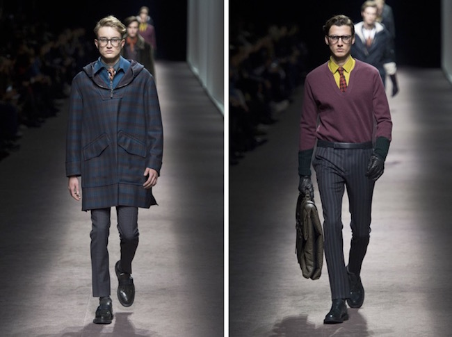 Canali Menswear Fall Winter 2016 Milan