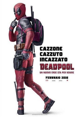deadpool locandina film