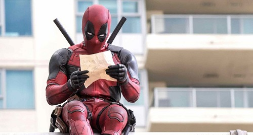deadpool scena film