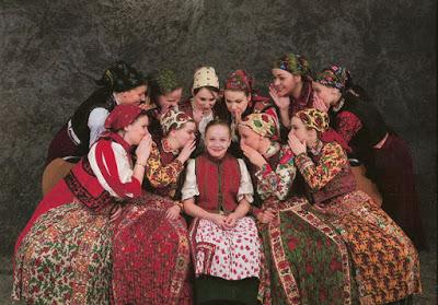 ragazze folklore ungherese