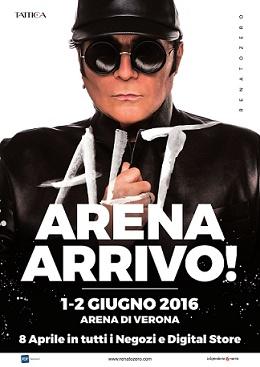 Renato Zero Arena di Verona