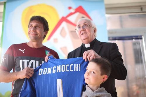 Antonio Conte e Mons. Angelo Bazzari