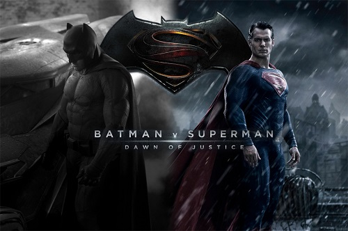 Batman V Superman - Dawn of Justice locandina film