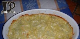 Lasagne con verdure di stagione e gamberetti