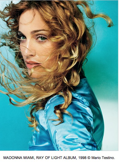 MADONNA MIAMI, RAY OF LIGHT ALBUM, 1998 © Mario Testino.
