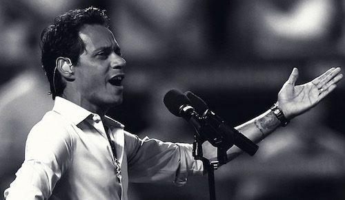 Marc Anthony nella Top 10 Classifica Marzo 2016
