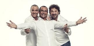 Panariello, Conti e Pieraccioni protagonisti in Lo Show
