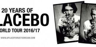 Placebo world tour 2016