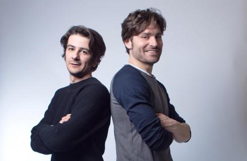 Francesco Mandelli e Federico Russo