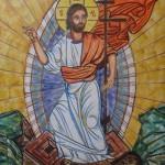 C.Udroiu, Resurrezione, affresco