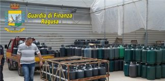 sequestrate a Vittoria 800 bombole di gas detenute illegalmente
