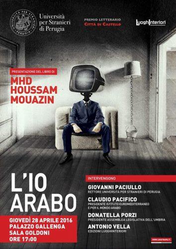 Libri: a Perugia la presentazione de 'L'Io Arabo' di HousSam Mouazin
