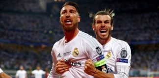 Champions League Real Madrid-Atletico Madrid 6-4 gol di Ramos