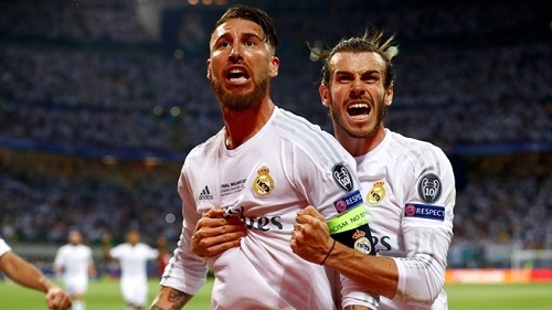 Champions League Real Madrid-Atletico Madrid 6-4 gol di Ramos