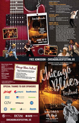 Chicago Blues Festival 2016