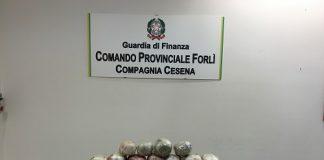 Forlì-Cesena sequestro di 19 chilogrammi di Marijuana