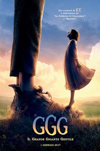 Il GGG Il Grande Gigante Gentile - locandina film italiano