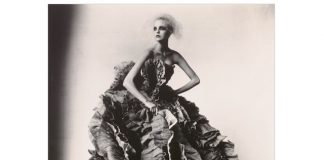 Irving Penn, Ball Dress by Olivier Theyskens for Nina Ricci