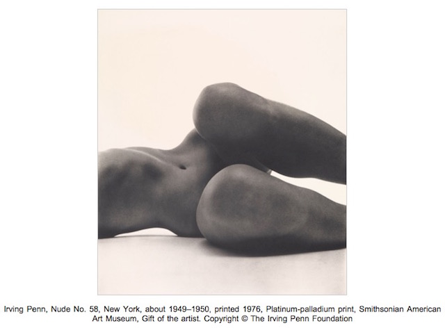 Irving Penn, Nude No. 58, New York
