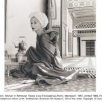 Irving Penn, Woman in Moroccan Palace (Lisa Fonssagrives-Penn), Marrakech