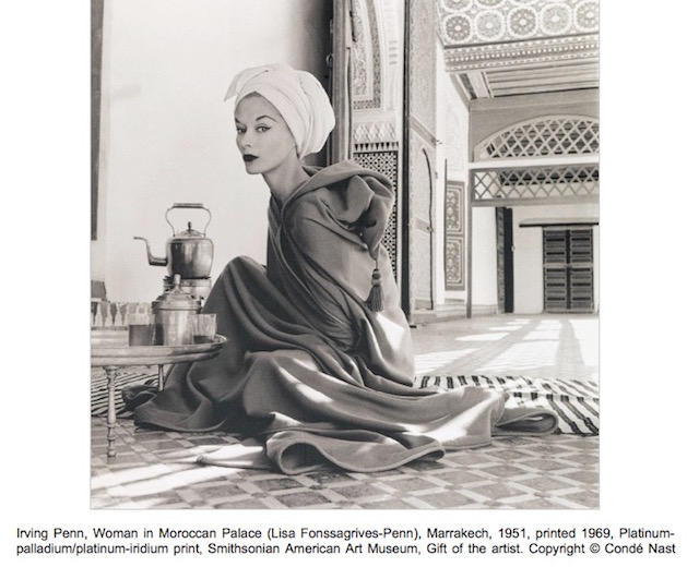 Irving Penn, Woman in Moroccan Palace (Lisa Fonssagrives-Penn), Marrakech