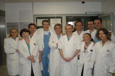 L'équipe del Prof. Cillo – Azienda Ospedaliera di Padova