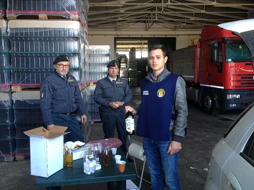 Palermo, sequestro 25 tonnellate olio