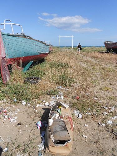 Beach Litter 2016, dossier di Legambiente