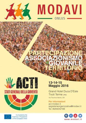"""Europe Day. Modavi lancia gli Stati Generali della Gioventù con il progetto """"ACT"""""""