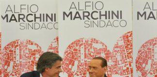 Marchini e Berlusconi