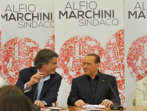Marchini e Berlusconi