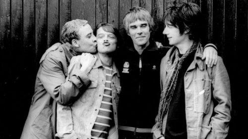 Stone Roses foto di Pennie Smith