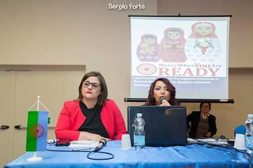mediatrice culturale rom Sarachella
