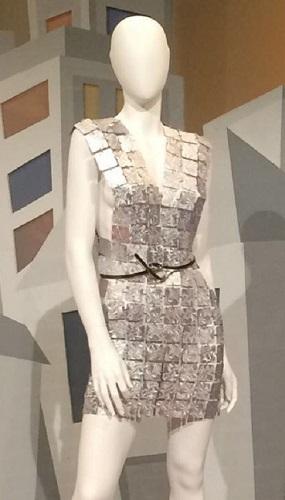 vestito in alluminio