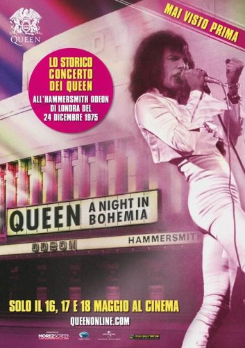 """Queen A Night in Bohemia"" al cinema dal 16 al 18 maggio"