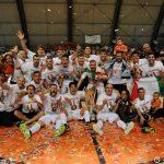 Calcio a 5, Asti Campione d'Italia, scofitto Rieti ai rigori