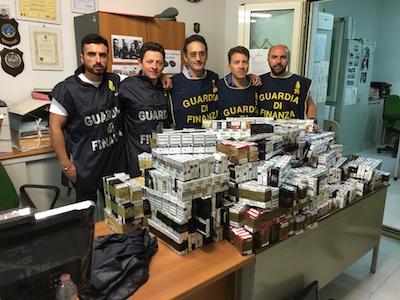 Caserta, arrestato contrabbandiere di sigarette